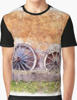 Wagon wheels Graphic T-Shirt