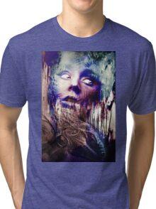 Violet lady Tri-blend T-Shirt