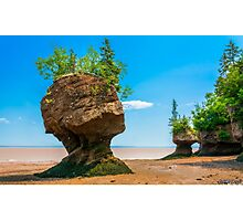 Hopewell Rocks, New Brunswick Canada Photographic Print
