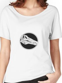 Spinosaurus Skull w/o Text Women's Relaxed Fit T-Shirt