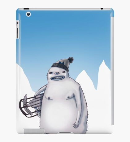 Yeti Kid iPad Case/Skin