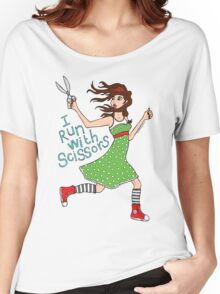 I Run With Scissors Women's Relaxed Fit T-Shirt