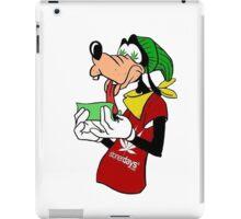 Goofy goofin  iPad Case/Skin