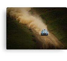The Essence of Rally Canvas Print