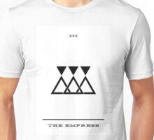 Minimalist Tarot - The Empress Unisex T-Shirt