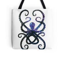 Cosmic Octopus Tote Bag