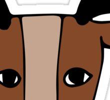 Reindeer Games Sticker