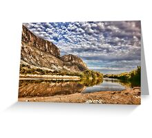 Rio Grande River Greeting Card