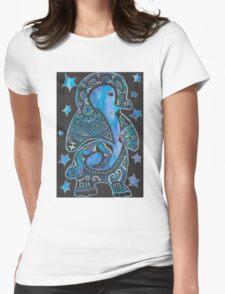 Penguin Zen Womens Fitted T-Shirt