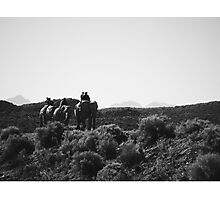 Elephant Riding in South Africa Photographic Print