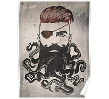 Black Beard Poster