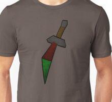Dragon Dagger Print Unisex T-Shirt