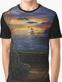 A Serenity of Still and Exquisite Brilliance Graphic T-Shirt