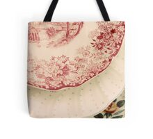 Antique China Floral Patterns  Tote Bag