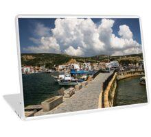 Aegean Fishing Village, Eski Foça Laptop Skin
