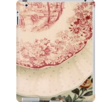 Antique China Floral Patterns  iPad Case/Skin
