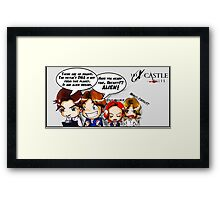 Xcastle files 2 Framed Print