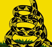 Dont Tread On Me - Gadsden flag Square Sticker