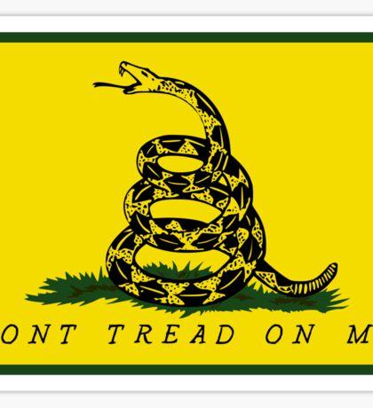 Dont Tread On Me - Gadsden flag Square Sticker