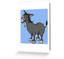 Funny Donkey Greeting Card