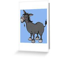 Funny Donkey Greeting Card