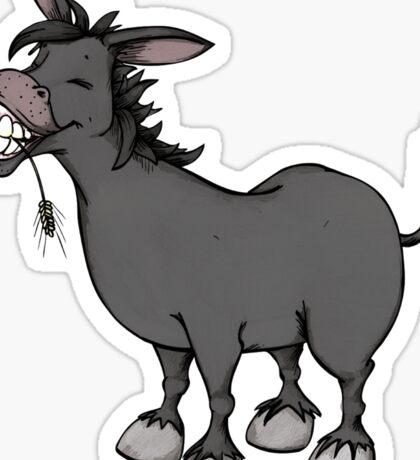 Funny Donkey Sticker