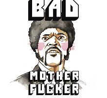 Pulp fiction - Jules Winnfield - Bad mother fucker by borjaandrea
