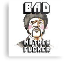Pulp fiction - Jules Winnfield - Bad mother fucker Metal Print