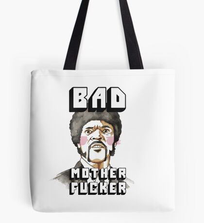 Pulp fiction - Jules Winnfield - Bad mother fucker Tote Bag