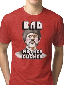 Pulp fiction - Jules Winnfield - Bad mother fucker Tri-blend T-Shirt