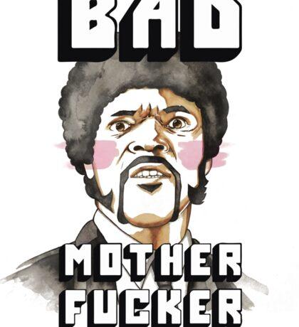 Pulp fiction - Jules Winnfield - Bad mother fucker Sticker