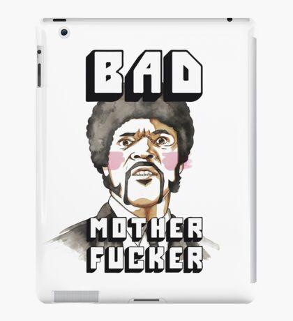 Pulp fiction - Jules Winnfield - Bad mother fucker iPad Case/Skin