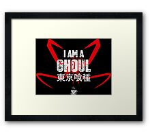 I AM A GHOUL Framed Print