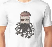 Black Beard Unisex T-Shirt