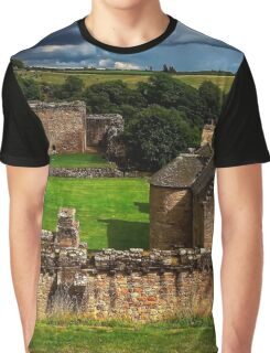 The Castle at Craignethan Graphic T-Shirt