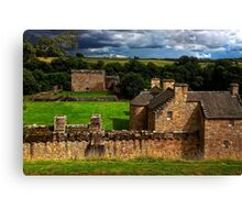 The Castle at Craignethan Canvas Print