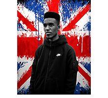 Novelist Grime Artist British Flag Photographic Print
