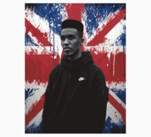 Novelist Grime Artist British Flag Kids Clothes
