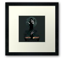 The Sandman and Death vertigo Framed Print