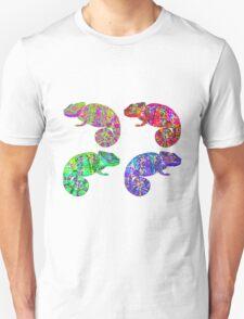 Psychedelic chameleons Unisex T-Shirt