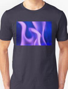 Purple Ghost Fire Unisex T-Shirt