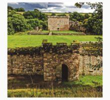 Craignethan Castle Entrance One Piece - Short Sleeve