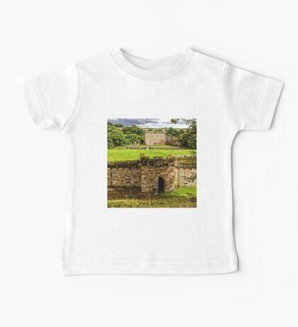 Craignethan Castle Entrance Baby Tee