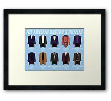 Twelfth Doctor Costume Poster Fandom Doctor Who Framed Print