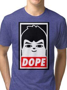 Hip Hop Monster DOPE ( V - BTS ) Tri-blend T-Shirt