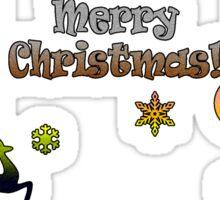Xmas 2015 - Merry Christmas! Sticker
