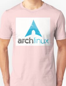 Hand drawn Archlinux logo T-Shirt