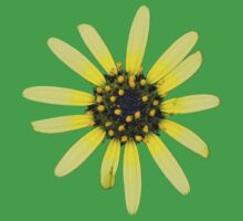 Yellow Daisy Kids Tee