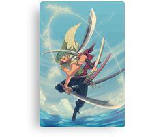 triple sword Canvas Print