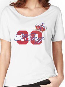 New York Rangers Henrik Lundqvist Women's Relaxed Fit T-Shirt